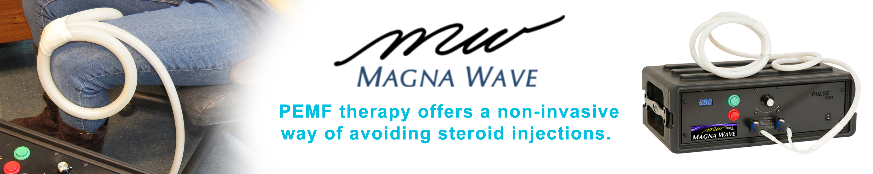 Avoiding Steroid Injections with PEMF from Magna Wave