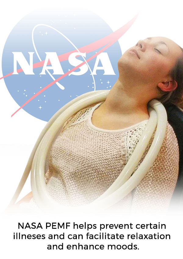 NASA PEMF helps prevent certain illnesses and can facilitate relaxation and enhance moods.