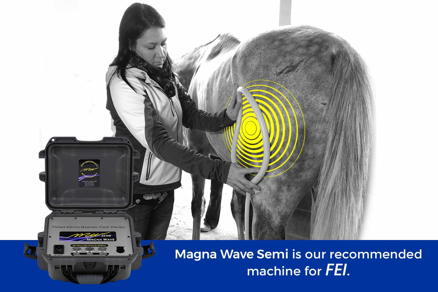 Magna Wave Semi is our recommended machines for FEI.