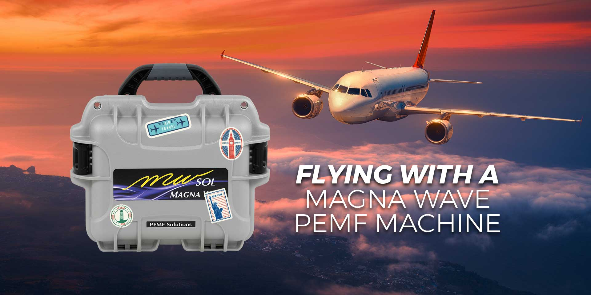 Flying with a Magna Wave PEMF Machine