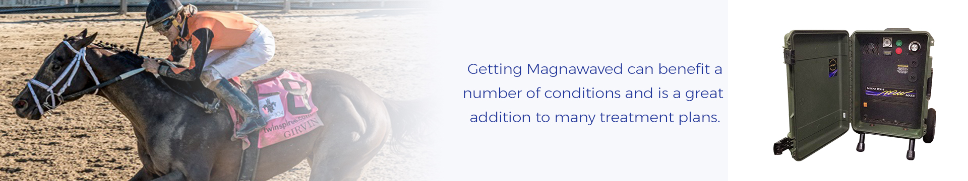 Getting Magnawaved can benefit a number of conditions and is a great addition to many treatment plans.
