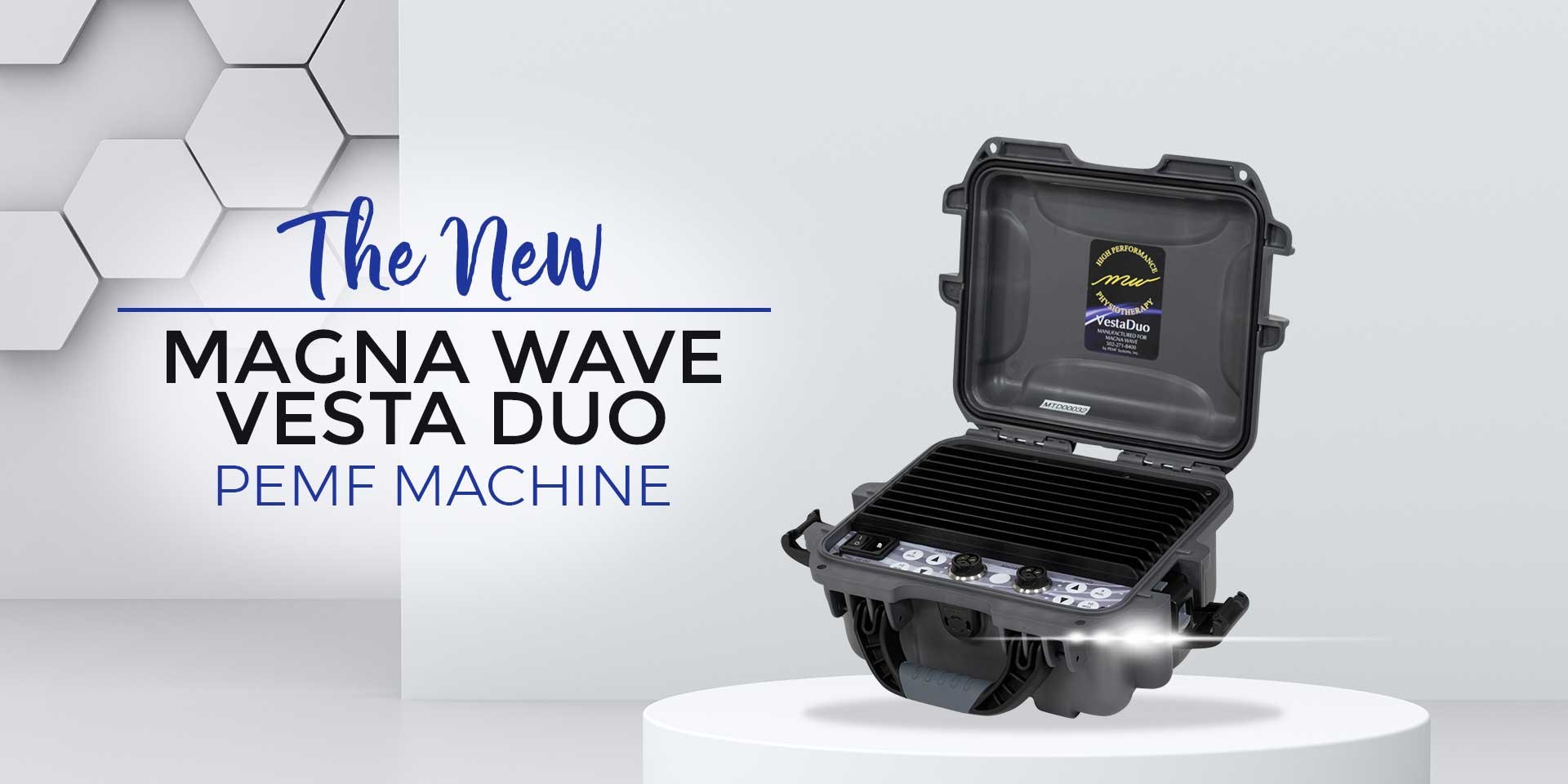 The NEW Magna Wave Vesta Duo PEMF Machine