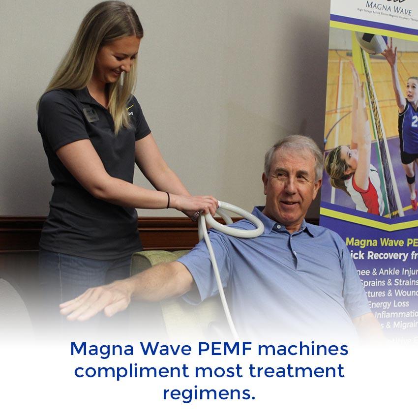 Magna Wave PEMF machines compliment most treatment regimens.