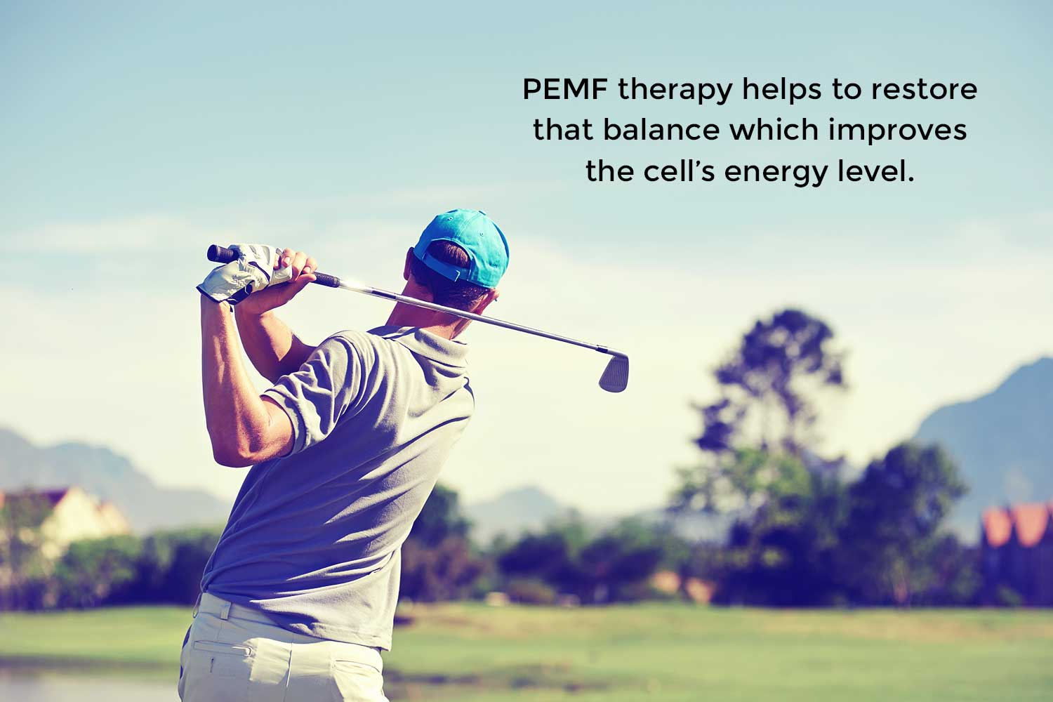 PEMF therapy helps to restore that balance which improves the cell's energy level.