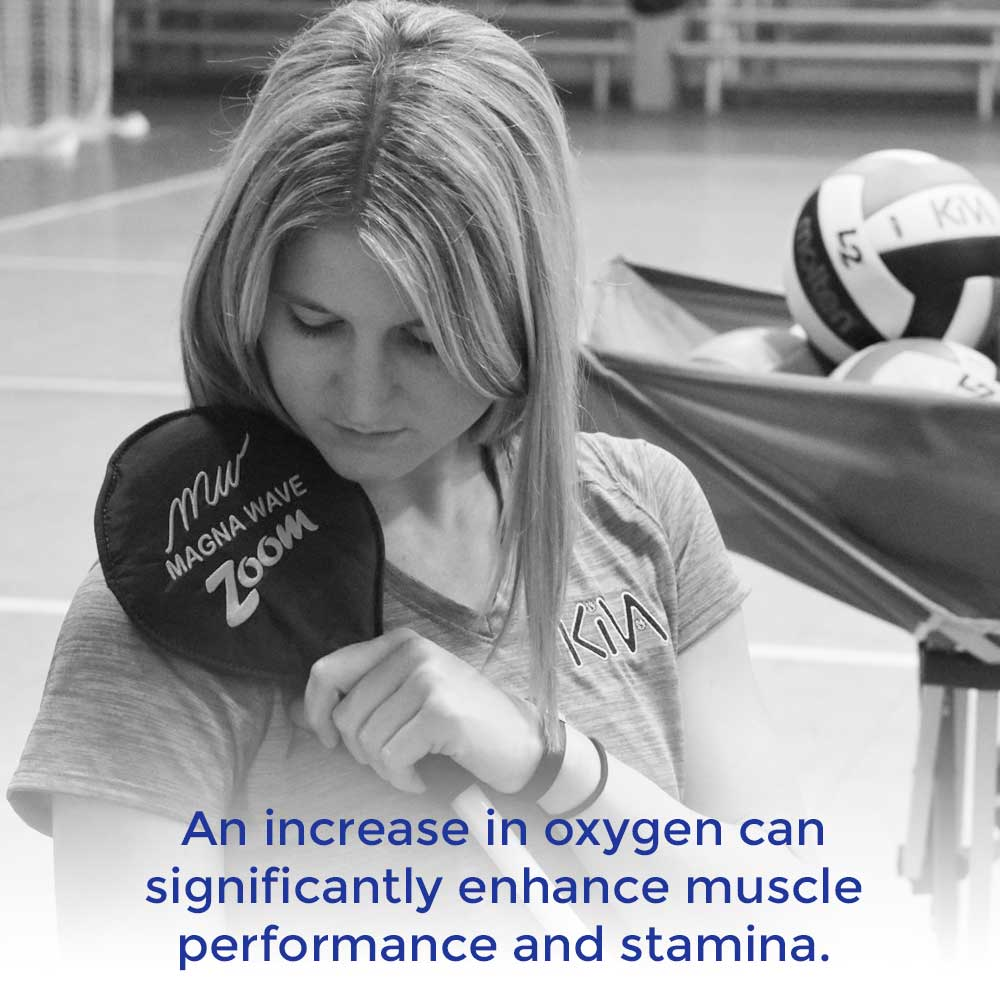 An increase in oxygen can significantly enhance muscle performance and stamina.
