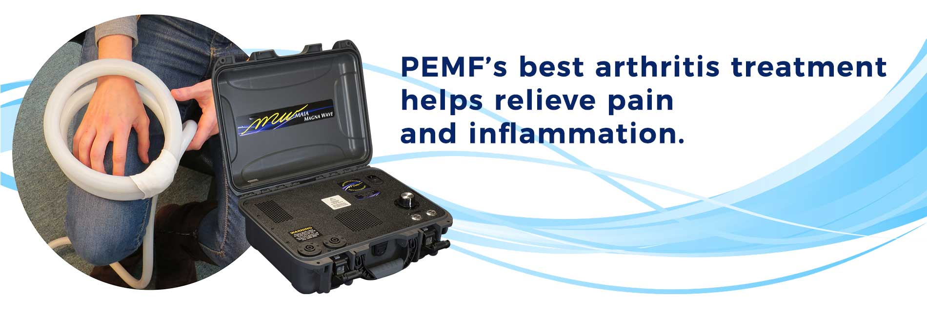 PEMF's best arthritis treatment helps relieve pain and inflammation