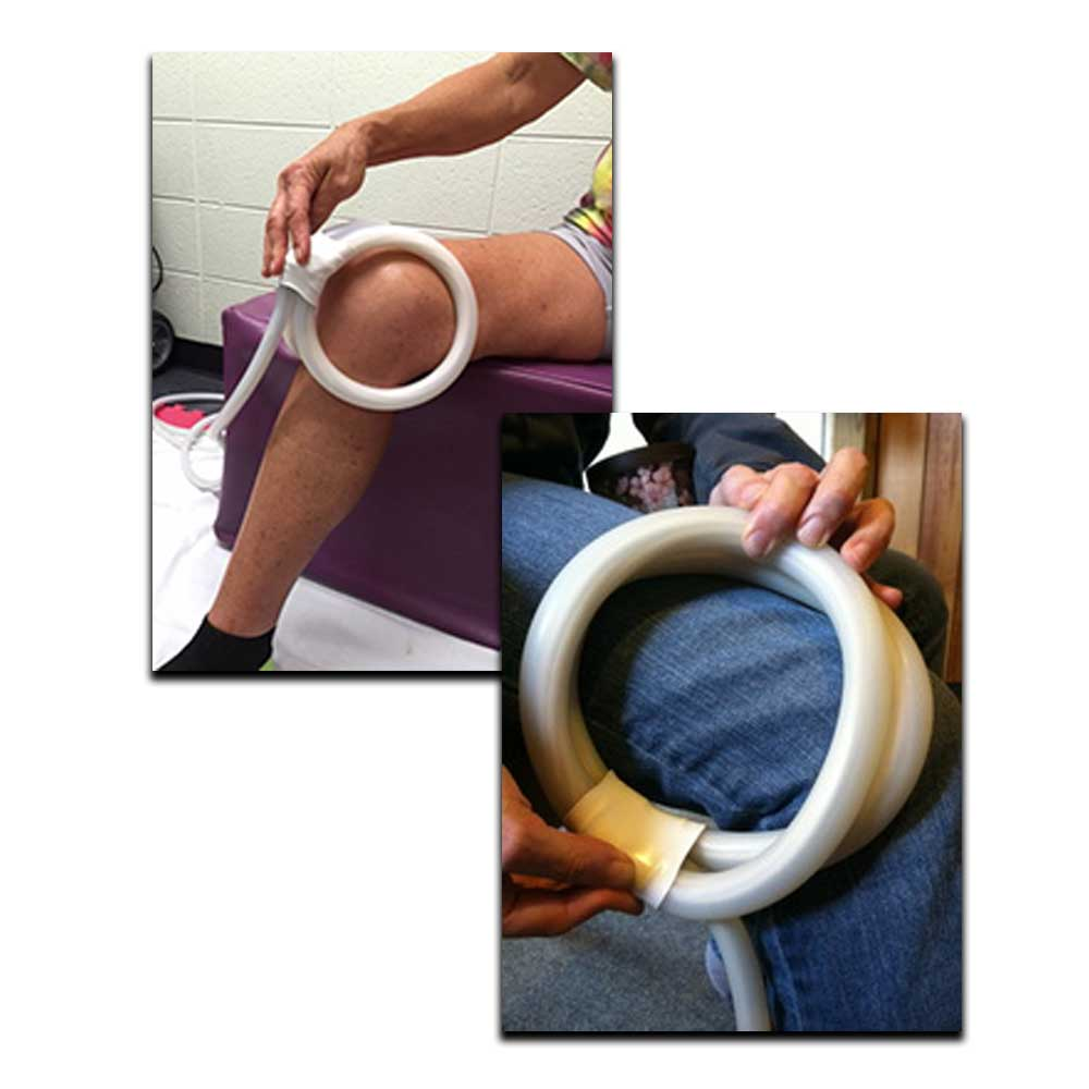 Magna Wave's PEMF Knee Device for pain treats athletic injuries, best treatment for osteoarthritis & best inflammation treatment