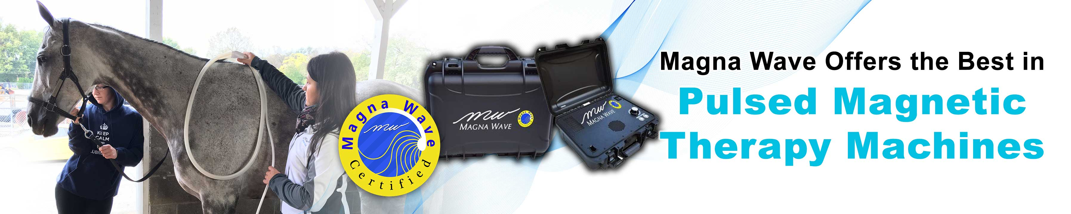 Magna Wave offers the Best in Pulsed Magnetic Therapy Machines