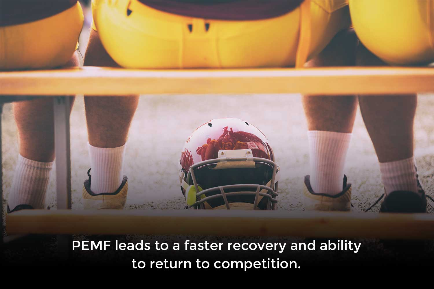 PEMF leads to a faster recovery and ability to return to competition.