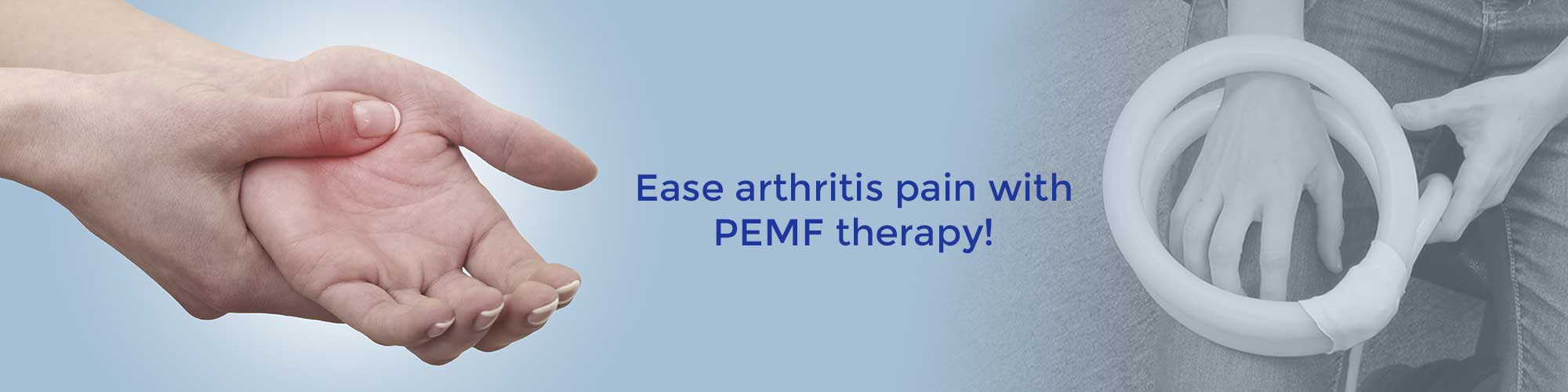 Ease arthritis pain with PEMF therapy!