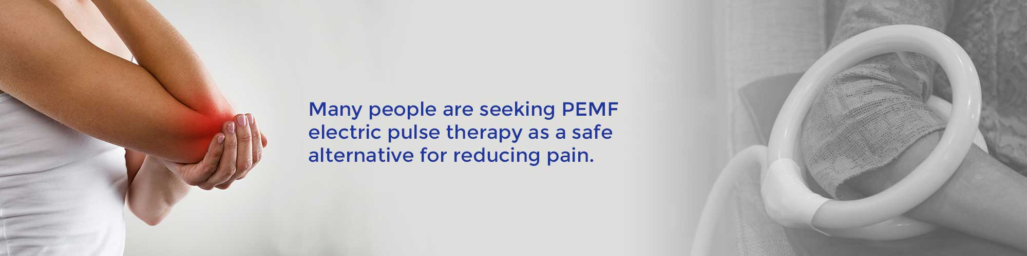 Many people are seeking PEMF electric pulse therapy as a safe alternative for reducing pain.