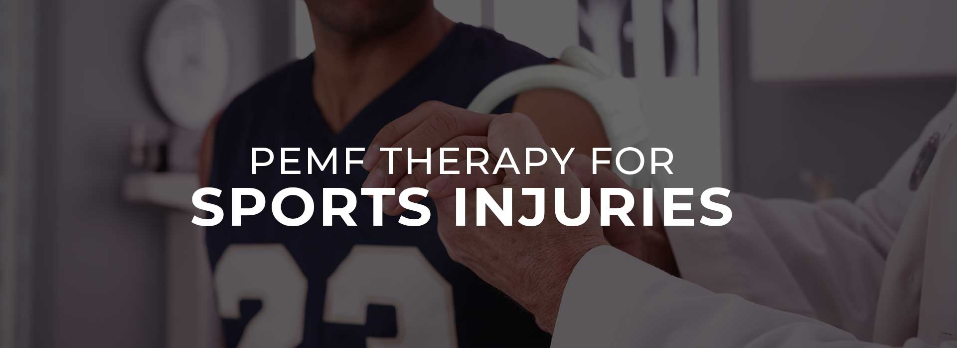 PEMF Therapy for Sports Injuries