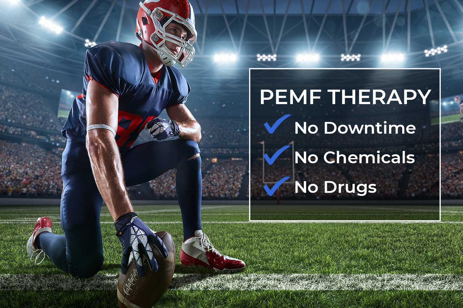 PEMF therapy - no downtime, no chemicals, no drugs