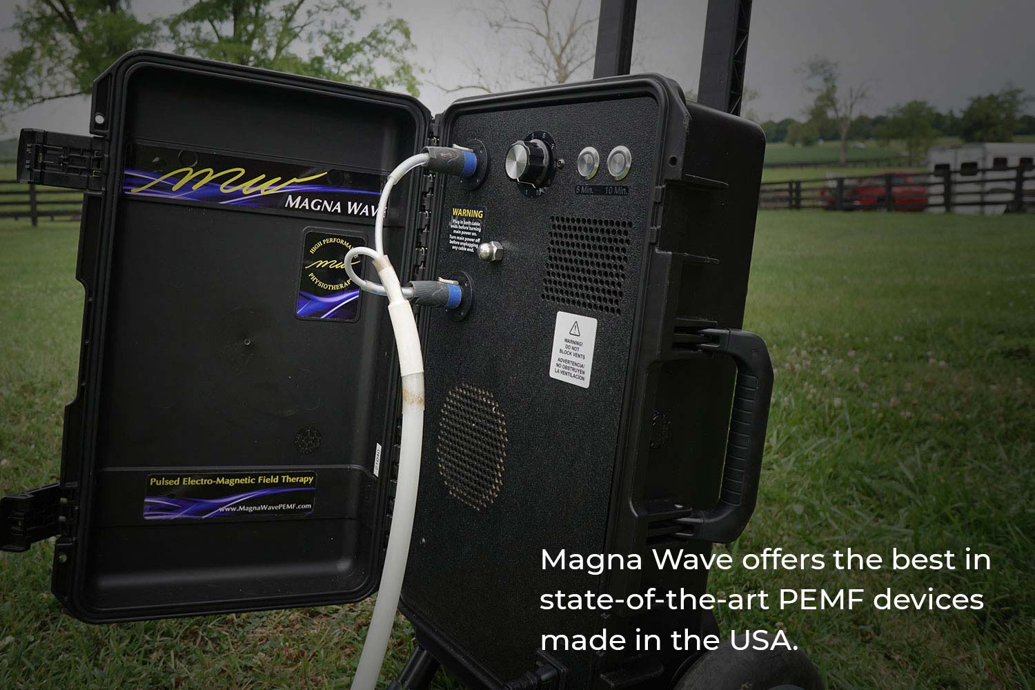 Magna Wave offers the best in state-of-the-art PEMF devices made in the USA.