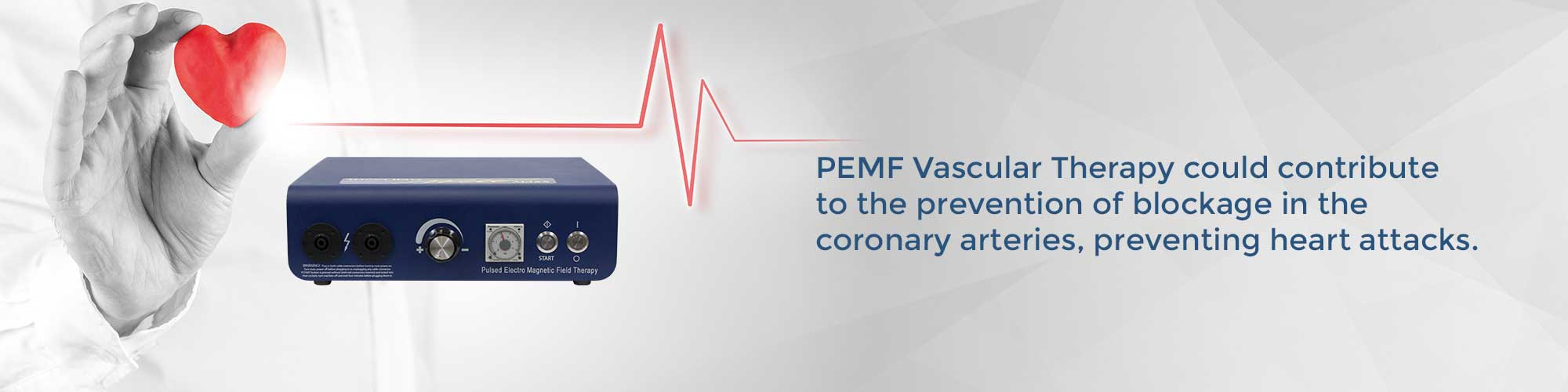 PEMF Vascular Therapy could contribute to the prevention of blockage in the coronary arteries, preventing heart attacks.