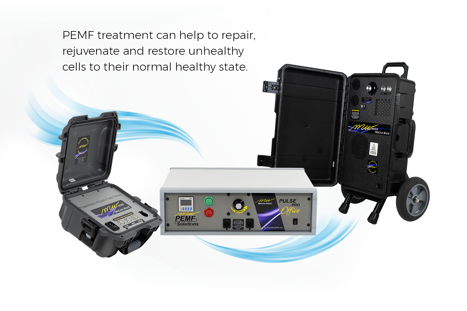 PEMF treatment can help to repair, rejuvenate and restore unhealthy cells to their normal healthy state.