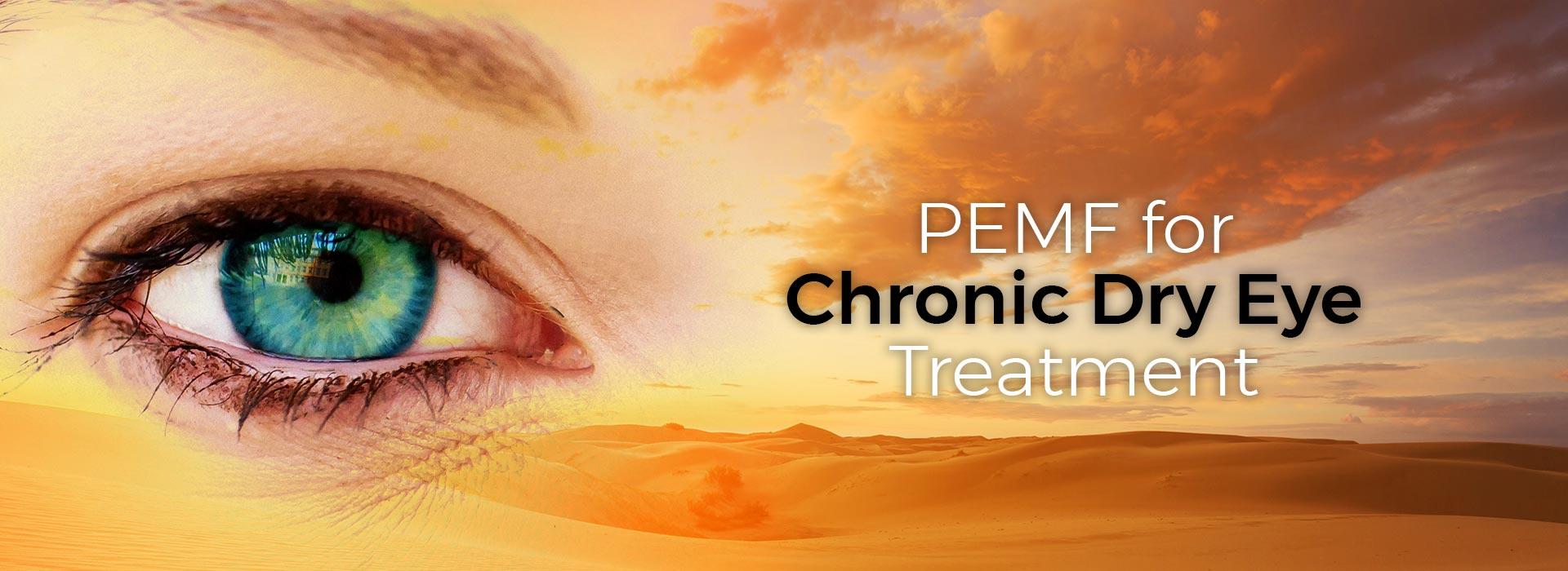 PEMF for Chronic Dry Eye Treatment