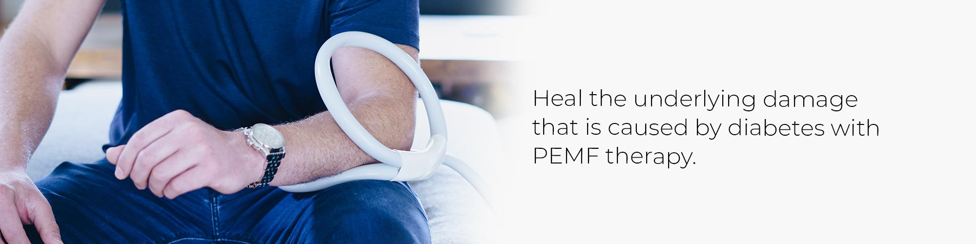 Heal the underlying damage that is caused by diabetes with PEMF therapy.
