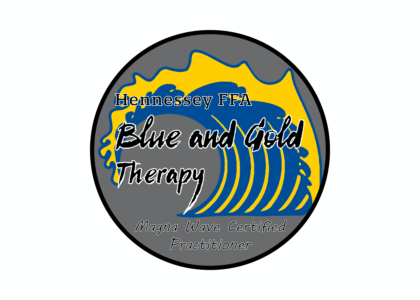 Blue and Gold Therapy